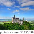 Neuschwanstein Castle the famous castle 36335896