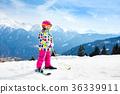 ski skier mountain 36339911