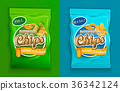 Set of two chips packaging. 36342124