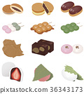 wagashi, japanese confectionery, japanese candies 36343173