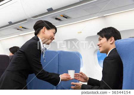 CA In-flight Services Drink Drink 36344154