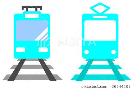 Electric train 36344305