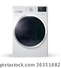 Vector relistic  illustration of washer 36351682