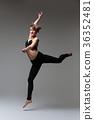 Beautiful woman dancer 36352481