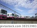 鐵路堆場 火車 電氣列車 36353983