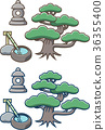 일본식 정원의 부품 36355400