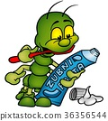 Caterpillar Holding Tooth Paste 36356544