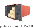 容器 后勤的 船运 36357238