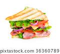 sandwich, toast, ham 36360789