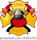 fire department badge 36363203