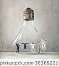 Businessteam harmonious work 36369221