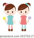 雙胞胎中的一人 雙胞胎 流行 36370217