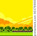 train travel the countryside 36376900