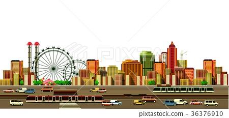 Modern city landscape 36376910