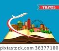 Open book city 36377180