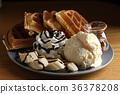 冰淇淋 下午茶 鬆餅 甜點 36378208
