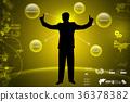 Business man thinking new idea 36378382