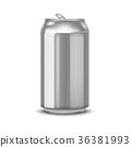 realistic aluminum cans 36381993
