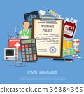 Health Insurance Services Concept 36384365