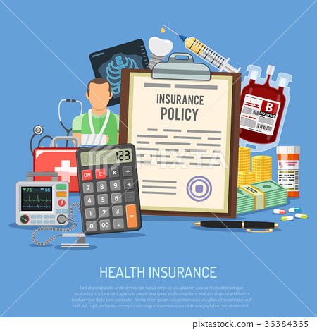 Health Insurance Services Concept 36384365