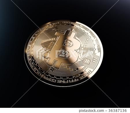 Bitcoin golden coin 36387136