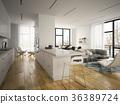 floor, interior, modern 36389724