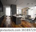 floor, interior, modern 36389729
