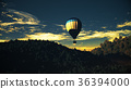 Hot Air Balloons Lush Natural Wilderness Jungle 36394000