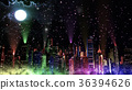city fullmoon buildings 36394626