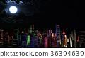 city fullmoon buildings 36394639