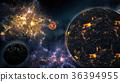 Amazing Planetary Nebula Galaxy and Planets 36394955