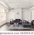 interior, modern, furniture 36395415