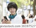 harajuku, omotesando, smartphone 36397527