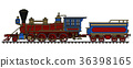 locomotive, vintage, steam 36398165