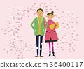 櫻花圖像。春天的背景。櫻花暴風雪。日曆。季節。春天。 36400117