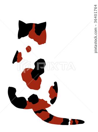 Mikuri cat's back 36401764