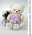 녹색, 생일선물, 클로즈업 36402783