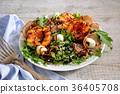 nectarine, dish, food 36405708