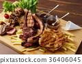 고기 모듬 36406045