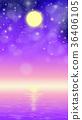 滿月 月亮 月 36406105