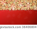 Christmas gold glittering snowflakes background 36406804