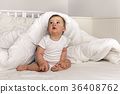 bed, blanket, baby 36408762