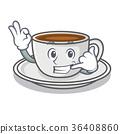 Call me coffee character cartoon style 36408860