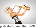 saxophone instrument sax 36409696