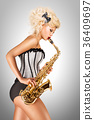 saxophone instrument sax 36409697