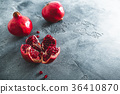 红色 红 石榴 36410870