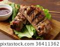 고기 요리, 돼지고기, 돼지 고기 36411362