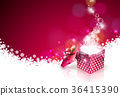 christmas background vector 36415390