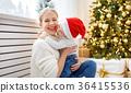 child, xmas, family 36415536