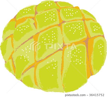 Melon bread / illustration 36415752